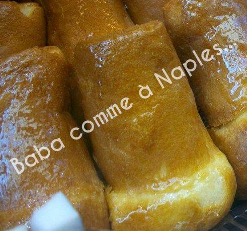 voyage en italie la véritable recette du baba napolitain