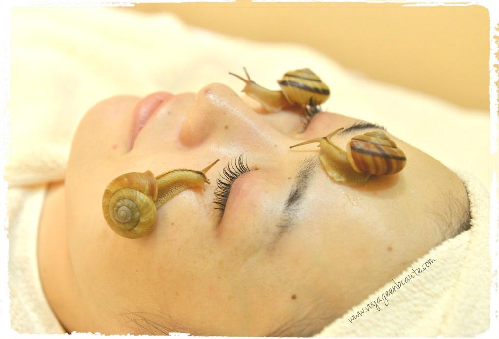 j 39 ai test les soins la bave d 39 escargots voyage en beaut. Black Bedroom Furniture Sets. Home Design Ideas