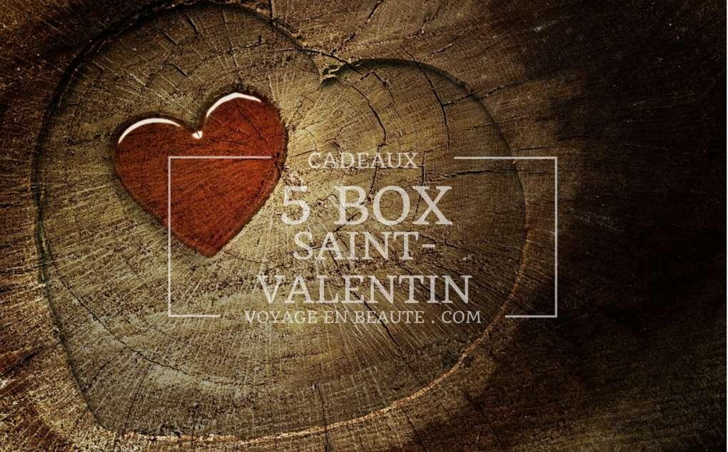 cadeaux 5 box pour la saint valentin voyage en beaut. Black Bedroom Furniture Sets. Home Design Ideas