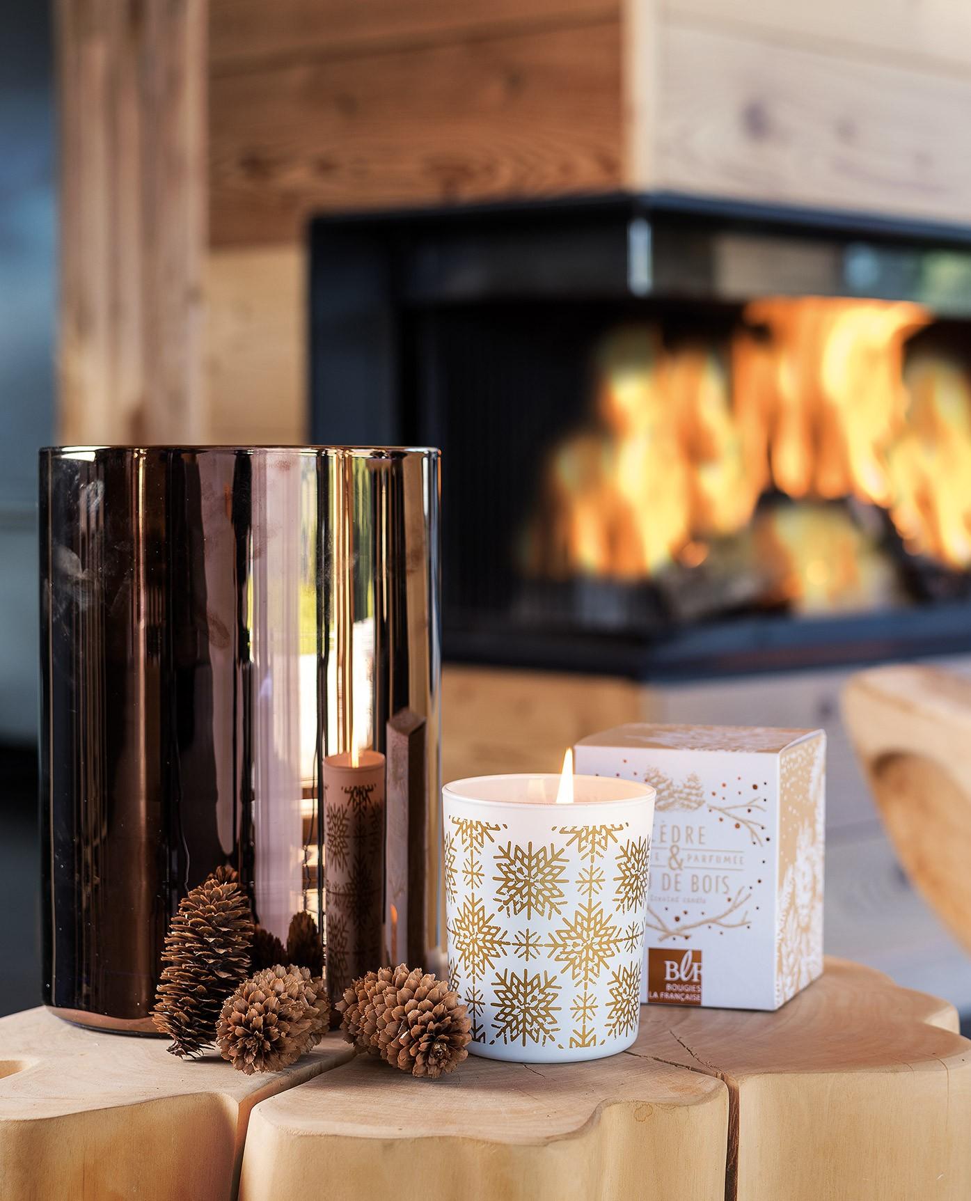 a sent no l avec les bougies la fran aise concours. Black Bedroom Furniture Sets. Home Design Ideas