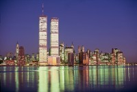 Twin Towers of the World Trade Center 11 septembre 2001