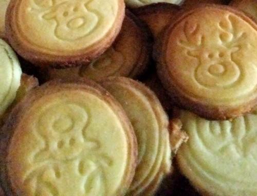 Jolis biscuits sablés de Noël