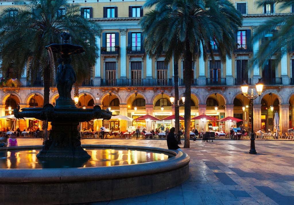 Barcelone la nuit…