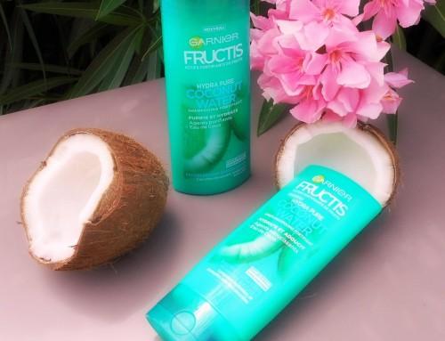 Des cheveux plus forts avec Coconut Water de Fructis + Concours !
