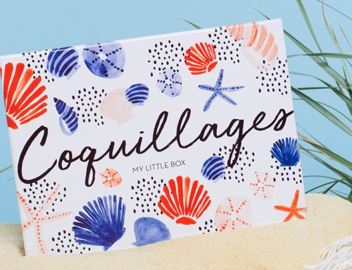 Coquillages – My Little Box- Juillet 2017