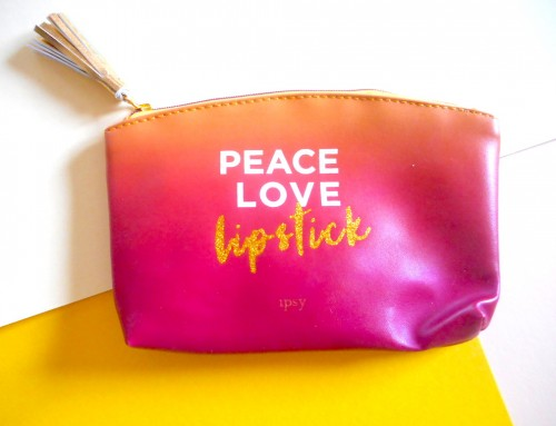 Ipsy Glam Bag – Aout 2017 – Good Vibes Only