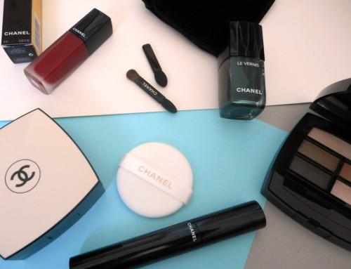 Mon Make-Up de rentrée tout en Chanel…
