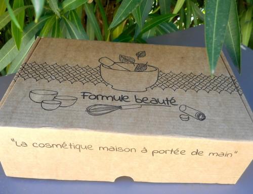 Formule Beauté : la box de cosmétiques faits maison