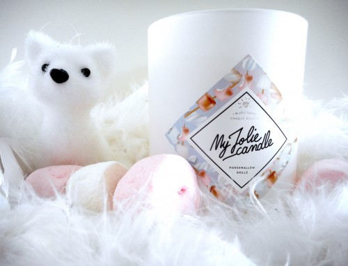My Jolie Candle : marshmallow grillé