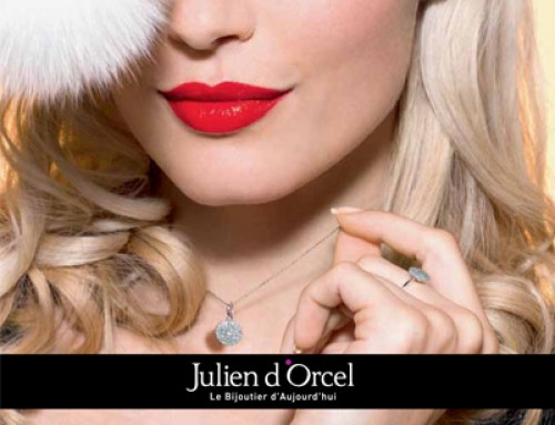 Des bijoux Julien D'Orcel pour Noël…