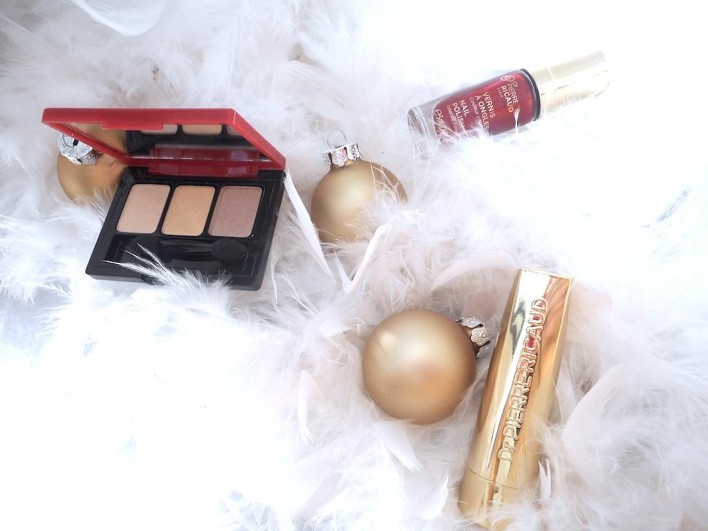 Maquillage le flamboyant Noël rouge et or du Dr Pierre