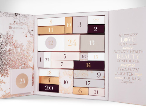 Spoiler : All I Want Calendrier de l'Avent Glossybox