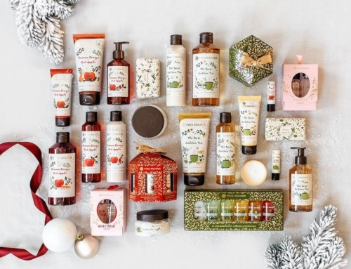La jolie collection de Noël Yves rocher ! (bons plans et codes promos inside)