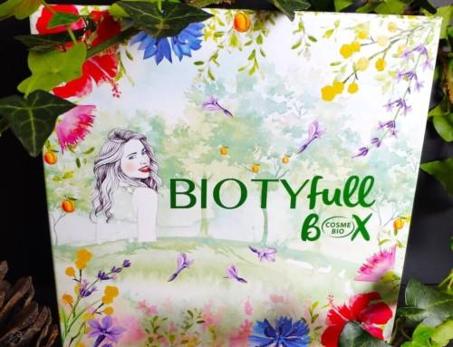 La Biotyfull Box 100% Cosmebio Avril 2019