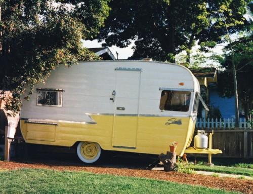 Mes vacances au camping au fil du temps…