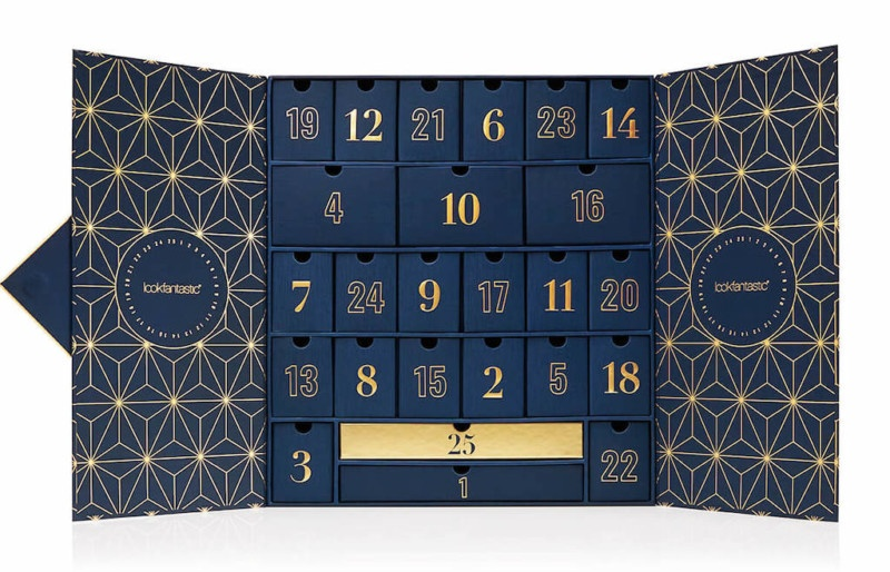 Spoiler Contenu et code promo calendrier de l'avent beauté Lookfantastic 2019