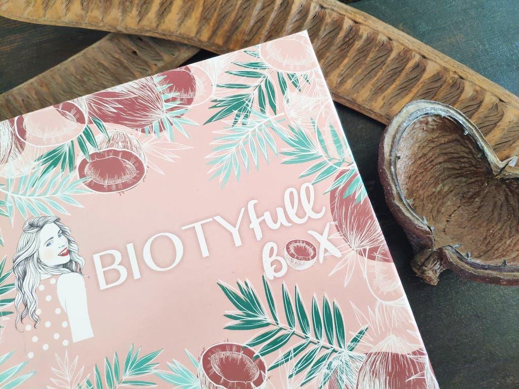 avis contenu biotyfull box novembre 2020