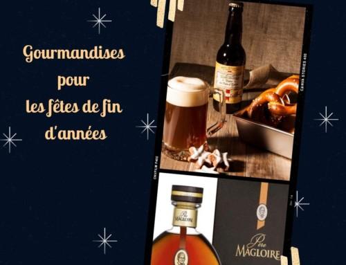 Sélection de gourmandises à déguster ou à offrir, spécial fêtes de fin d'année !