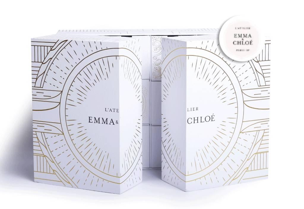 Calendrier de l'Avent Emma et Chloé : bijoux, cosmétiques, accessoires, spoiler, contenu, code promo, unboxing